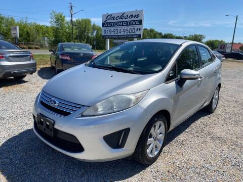 2013 Ford Fiesta for sale at Jackson Automotive in Smithfield NC