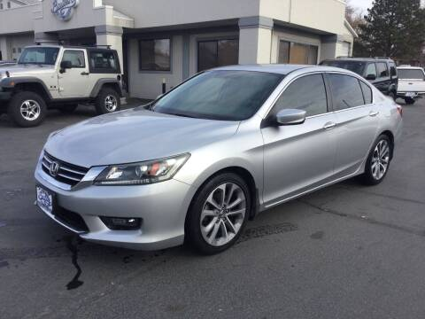 2014 Honda Accord for sale at Beutler Auto Sales in Clearfield UT