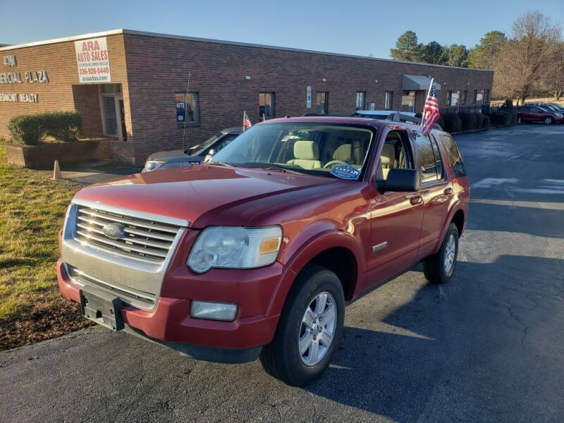 2008 Ford Explorer for sale at ARA Auto Sales in Winston-Salem NC