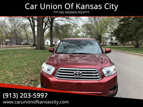 2008 Toyota Highlander for sale at Car Union Of Kansas City in Kansas City MO