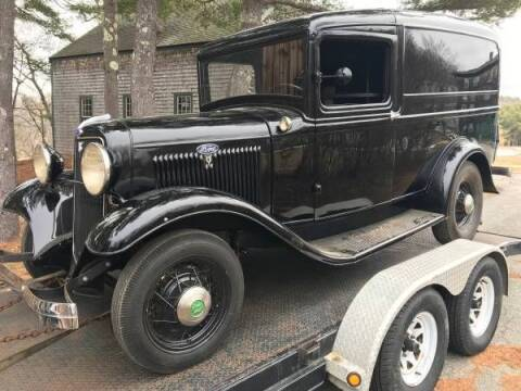 1934 Ford Panel Truck for sale at Classic Car Deals in Cadillac MI