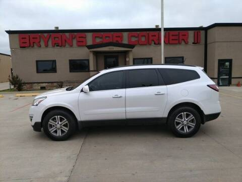 2017 Chevrolet Traverse for sale at Bryans Car Corner in Chickasha OK