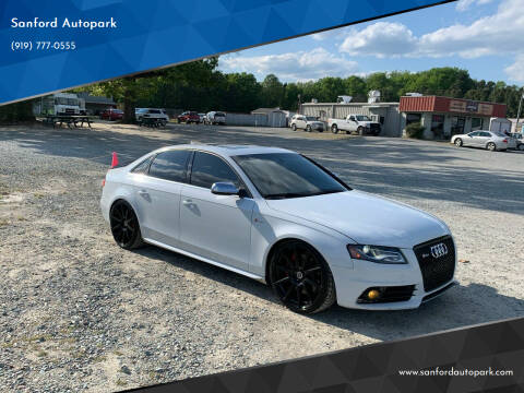 2012 Audi S4 for sale at Sanford Autopark in Sanford NC