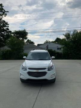 2016 Chevrolet Equinox for sale at Suburban Auto Sales LLC in Madison Heights MI