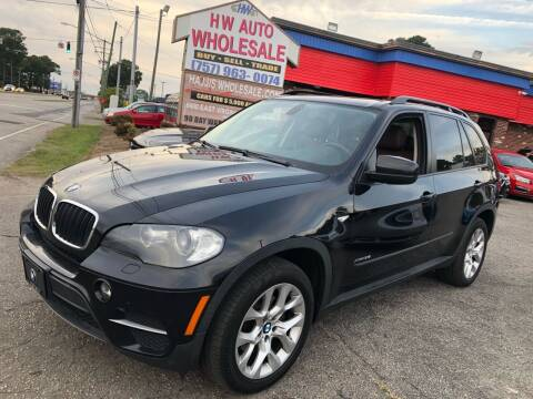 2011 BMW X5 for sale at HW Auto Wholesale in Norfolk VA