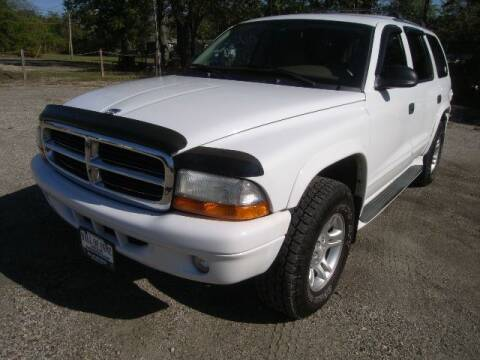 2003 Dodge Durango for sale at HALL OF FAME MOTORS in Rittman OH