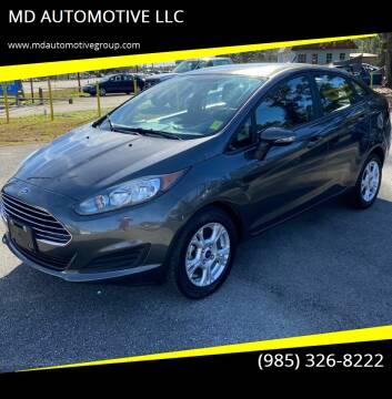 2016 Ford Fiesta for sale at MD AUTOMOTIVE LLC in Slidell LA