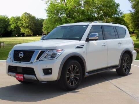 2018 Nissan Armada for sale at BIG STAR HYUNDAI in Houston TX