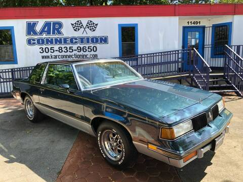 1987 Oldsmobile Cutlass for sale at Kar Connection in Miami FL