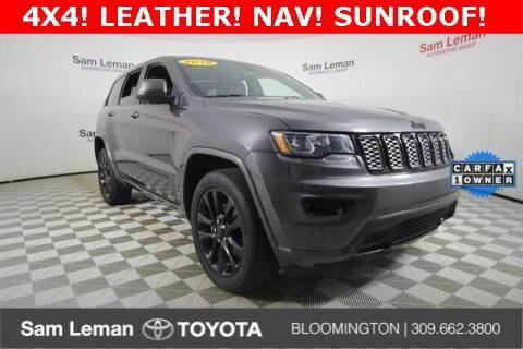 2018 Jeep Grand Cherokee for sale at Sam Leman Toyota Bloomington in Bloomington IL