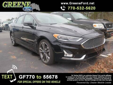 2020 Ford Fusion for sale at NMI in Atlanta GA