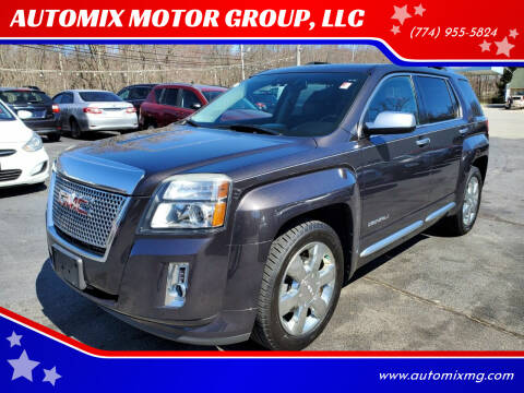 2013 GMC Terrain for sale at AUTOMIX MOTOR GROUP, LLC in Swansea MA