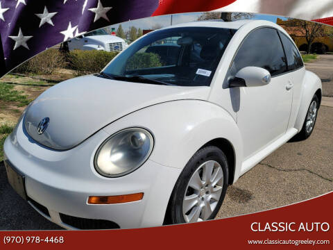 2009 Volkswagen New Beetle for sale at Classic Auto in Greeley CO