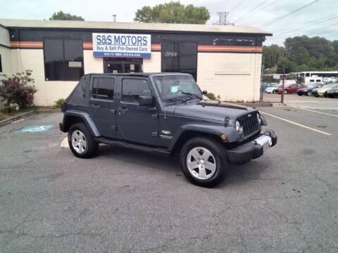 2008 Jeep Wrangler Unlimited for sale at S & S Motors in Marietta GA