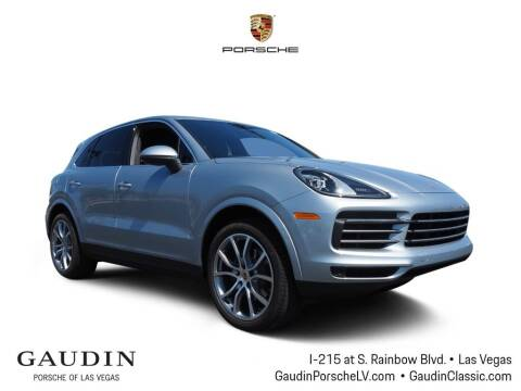 2020 Porsche Cayenne for sale at Gaudin Porsche in Las Vegas NV
