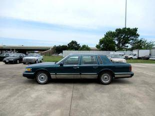 1997 Lincoln Town Car for sale at Fall Creek Motor Cars in Humble TX