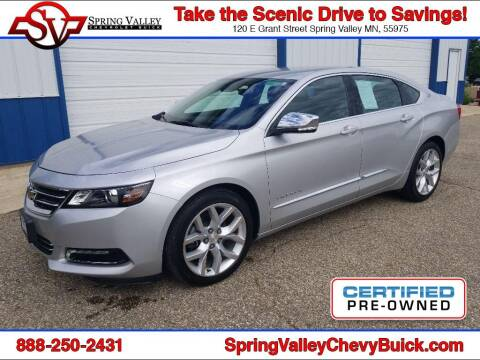 2017 Chevrolet Impala for sale at Spring Valley Chevrolet Buick in Spring Valley MN
