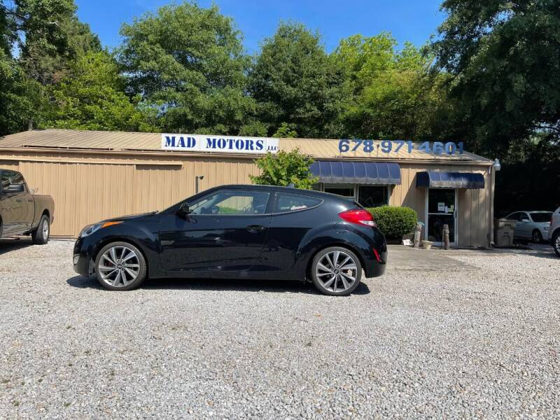 2015 Hyundai Veloster for sale at Mad Motors LLC in Gainesville GA
