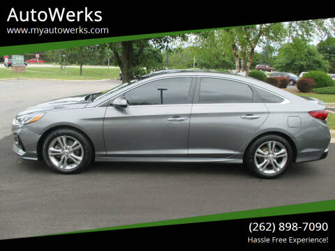 2018 Hyundai Sonata for sale at AutoWerks in Sturtevant WI