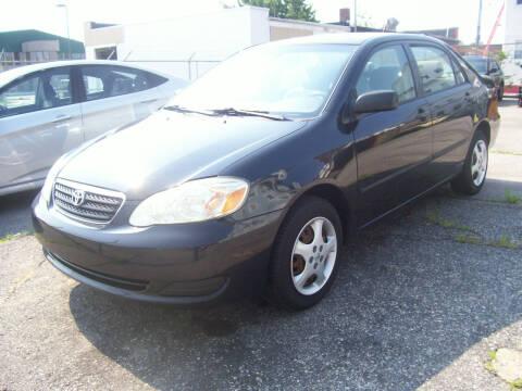 2007 Toyota Corolla for sale at Dambra Auto Sales in Providence RI