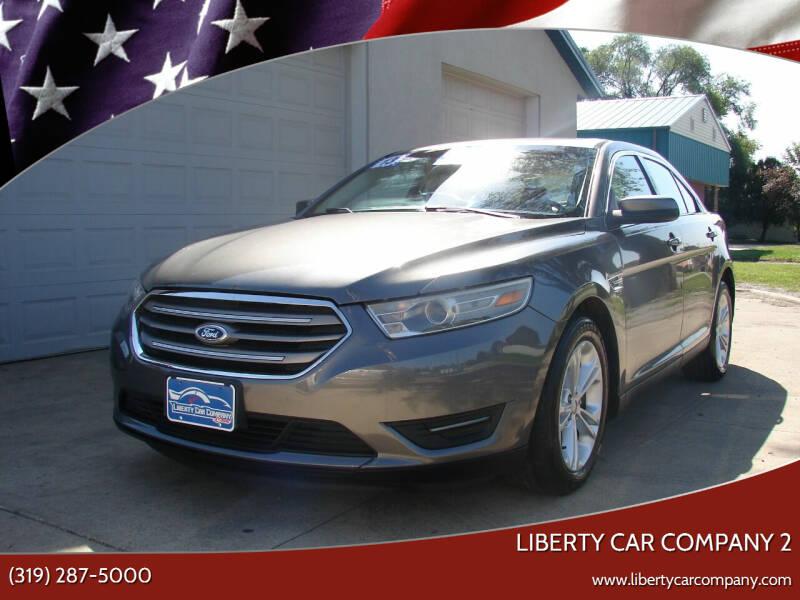 2013 Ford Taurus for sale at Liberty Car Company - II in Waterloo IA