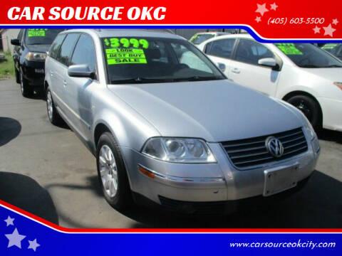 2003 Volkswagen Passat for sale at CAR SOURCE OKC in Oklahoma City OK