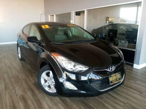 2013 Hyundai Elantra for sale at Golden State Auto Inc. in Rancho Cordova CA
