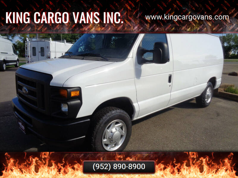 2012 Ford E-Series Cargo for sale at King Cargo Vans Inc. in Savage MN