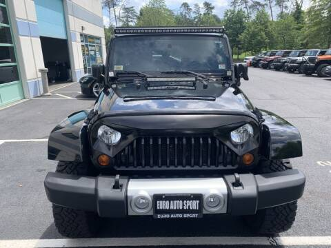 2010 Jeep Wrangler Unlimited for sale at Euro Auto Sport in Chantilly VA