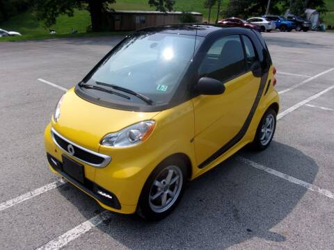 2015 Smart fortwo for sale at Pyles Auto Sales in Kittanning PA