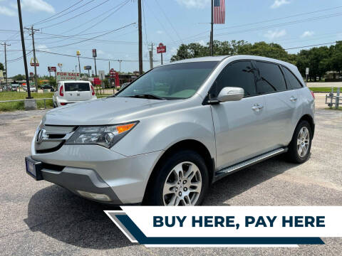 2008 Acura MDX for sale at H3 MOTORS in Dickinson TX