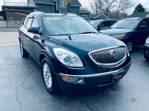 2009 Buick Enclave for sale at SHEFFIELD MOTORS INC in Kenosha WI