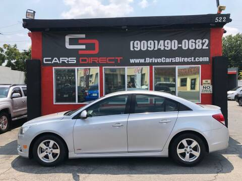 2012 Chevrolet Cruze for sale at Cars Direct in Ontario CA