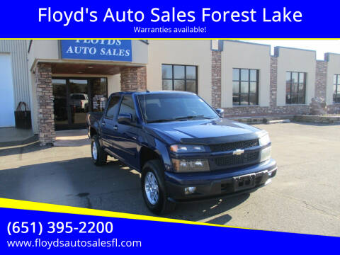 2012 Chevrolet Colorado for sale at Floyd's Auto Sales Forest Lake in Forest Lake MN