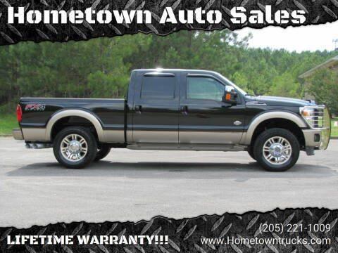2012 Ford F-250 Super Duty for sale at Hometown Auto Sales - Trucks in Jasper AL