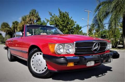 1986 Mercedes-Benz 560-Class for sale at Progressive Motors in Pompano Beach FL