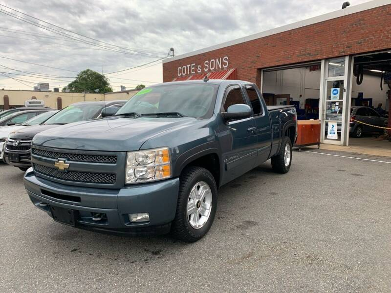 2009 Chevrolet Silverado 1500 for sale at Cote & Sons Automotive Ctr in Lawrence MA