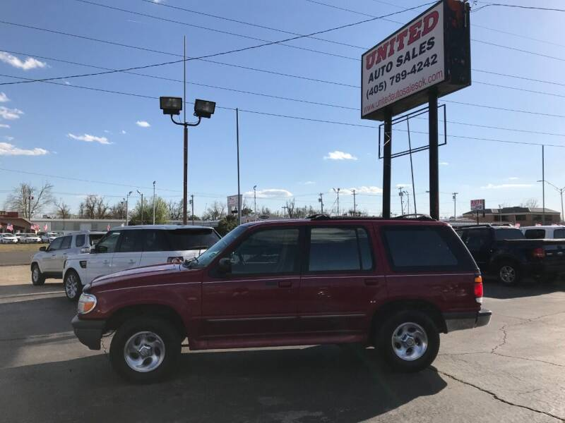 1996 Ford Explorer for sale at United Auto Sales in Oklahoma City OK