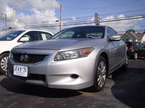 2008 Honda Accord for sale at Jay's Auto Sales Inc in Wadsworth OH
