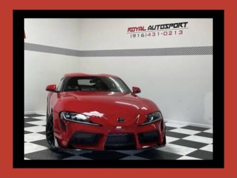 2020 Toyota GR Supra for sale at Royal AutoSport in Sacramento CA