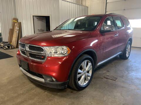 2013 Dodge Durango for sale at Blake Hollenbeck Auto Sales in Greenville MI