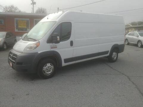 2014 RAM ProMaster Cargo for sale at Lewis Used Cars in Elizabethton TN