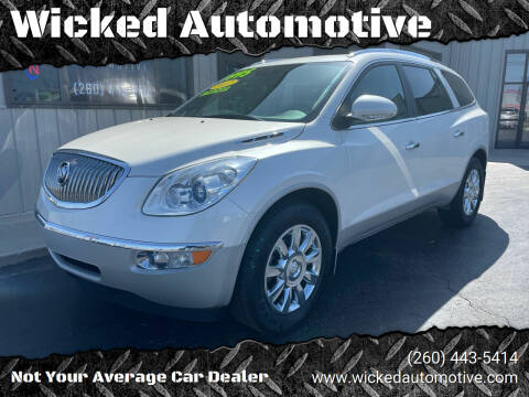 2012 Buick Enclave for sale at Wicked Automotive in Fort Wayne IN