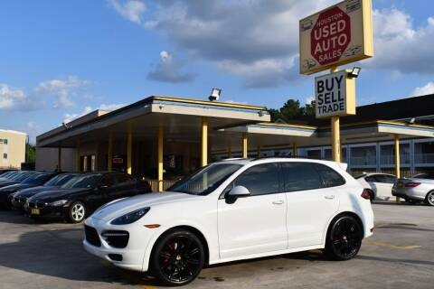 2014 Porsche Cayenne for sale at Houston Used Auto Sales in Houston TX