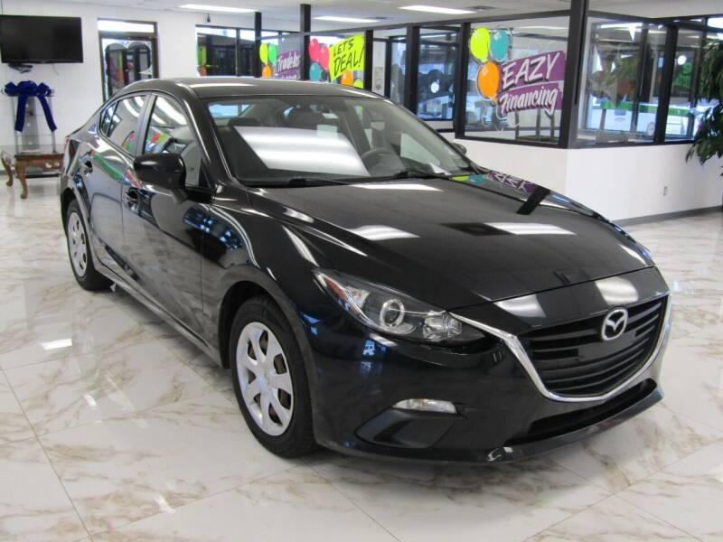 2016 Mazda MAZDA3 for sale at Dealer One Auto Credit in Oklahoma City OK