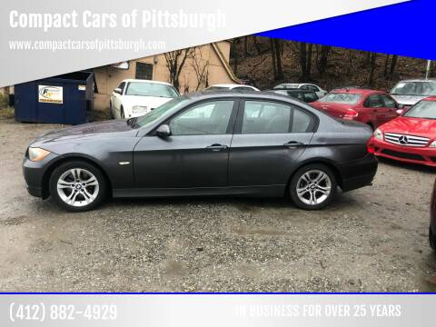 2008 BMW 3 Series for sale at Compact Cars of Pittsburgh in Pittsburgh PA