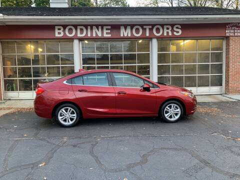 2017 Chevrolet Cruze for sale at BODINE MOTORS in Waverly NY