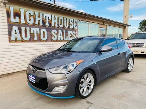 2013 Hyundai Veloster for sale at Lighthouse Auto Sales LLC in Grand Junction CO