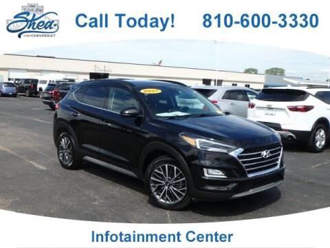 2021 Hyundai Tucson for sale at Erick's Used Car Factory in Flint MI