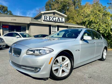 2011 BMW 5 Series for sale at Regal Auto Sales in Marietta GA